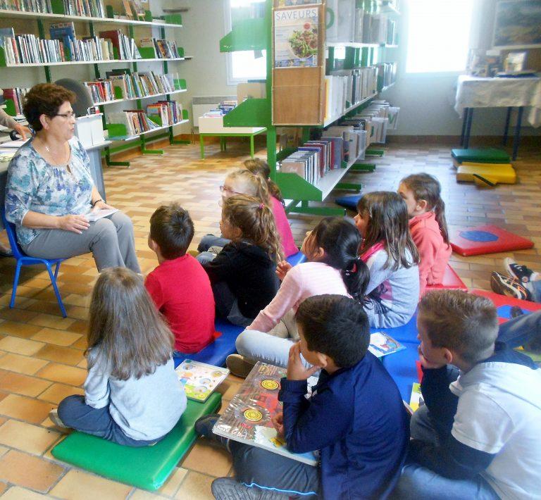 Morlhon Le Haut conte pour enfants à la bibliothèque