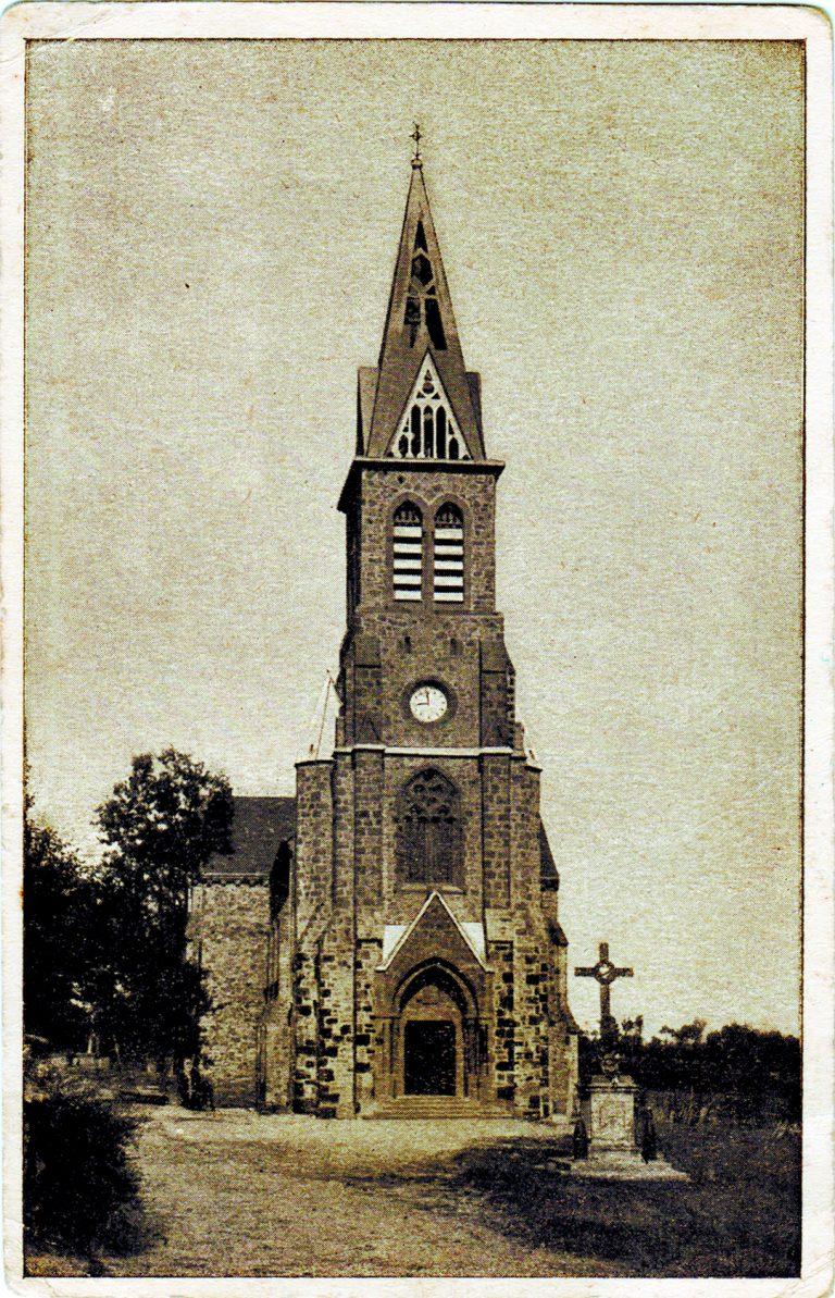 Morlhon Le Haut église autrefois