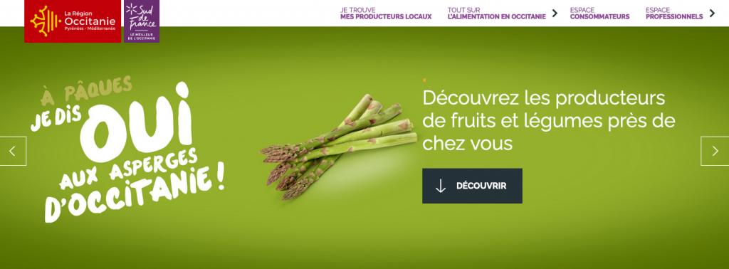 site web région Occitanie