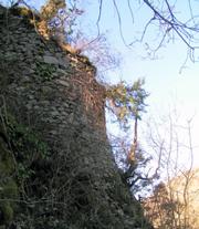Morlhon vestige du château des anglais